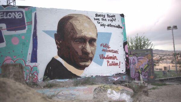 Jak europejscy artyści złożyli życzenia Putinowi - Sputnik Polska