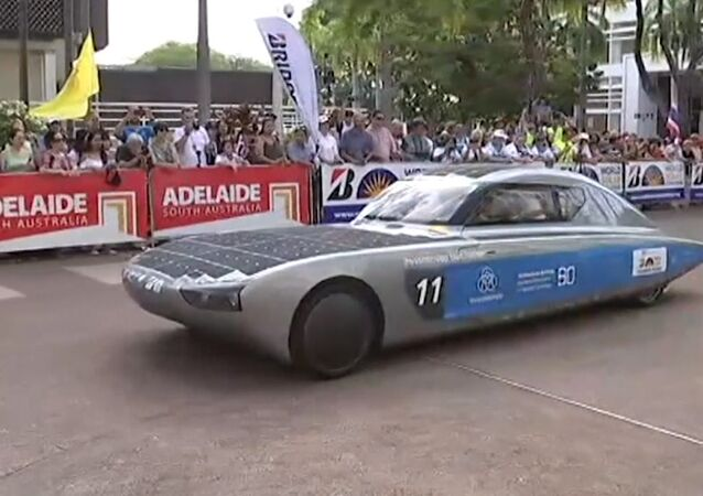 Wyścig samochodów na baterie słoneczne