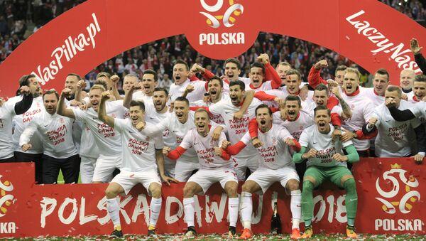 Reprezentacja Polski po meczu z Czarnogórą - Sputnik Polska