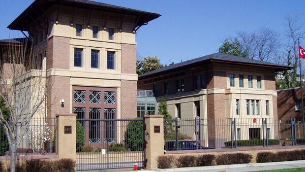 Ambasada Turcji w Waszyngtonie - Sputnik Polska
