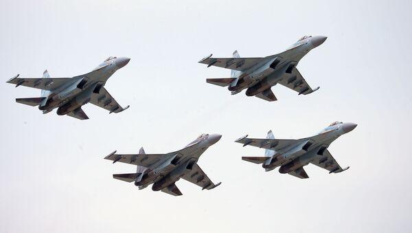 Rosyjskie Su-35S - Sputnik Polska