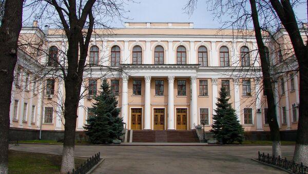 Siedziba Ministerstwa Edukacji i Nauki Ukrainy w Kijowie - Sputnik Polska