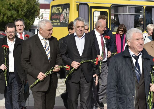 Przedstawiciele ukraińskich diaspor z różnych krajów przyjechali na Krym na kongres międzynarodowy