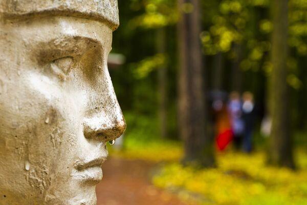 Rzeźba w parku Carycyno w Moskwie - Sputnik Polska