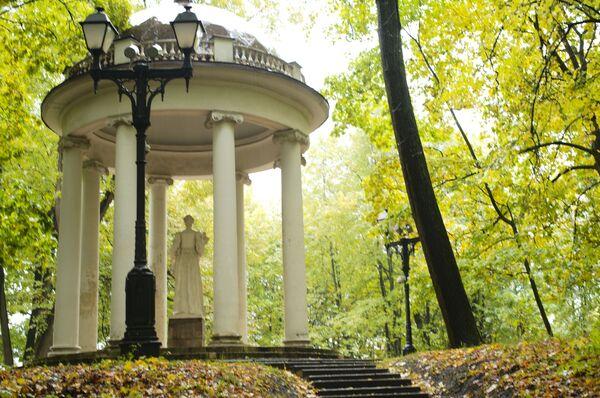 Jesień w parku Carycyno w Moskwie - Sputnik Polska