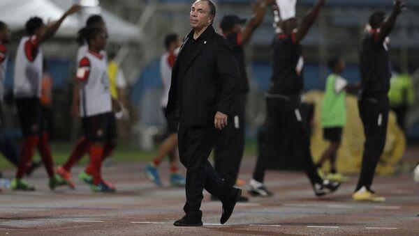 Trener reprezentacji USA po przegranym meczu z Trinidad i Tobago - Sputnik Polska