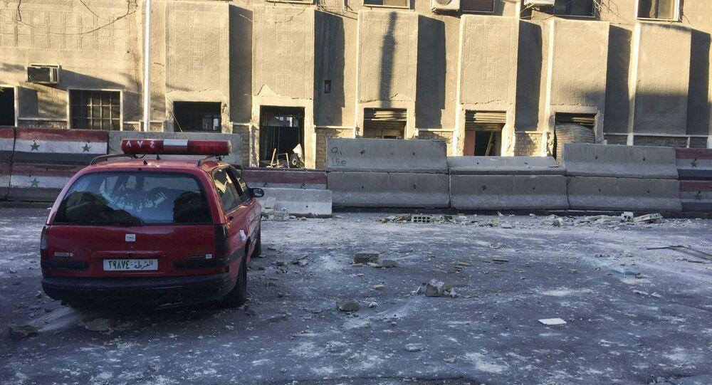 Atak terrorystyczny w Damaszku