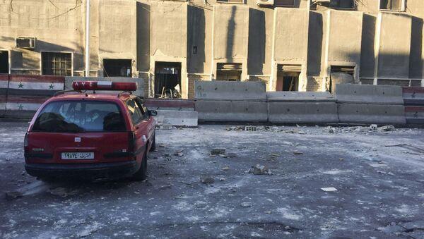 Atak terrorystyczny w Damaszku - Sputnik Polska