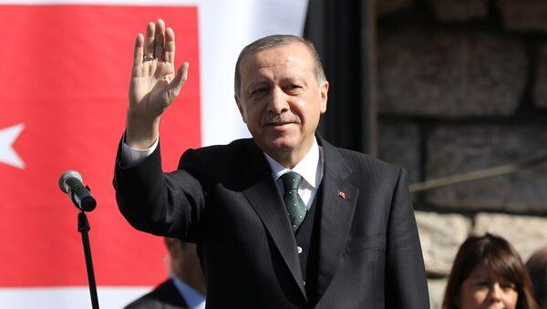 Prezydent Turcji Recep Tayyip Erdogan w Serbii - Sputnik Polska