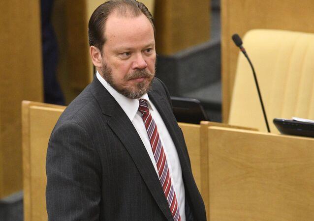 Wiceprzewodniczący Komisji Kultury Dumy Państwowej Rosji Aleksander Szołochow