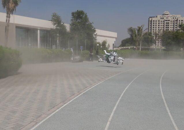 Latający motocykl