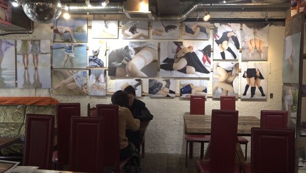 Kawiarnia w Tokio - Sputnik Polska