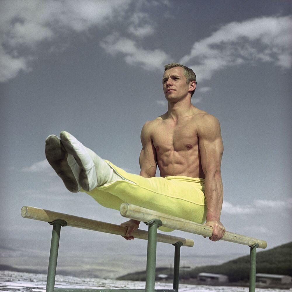 Radziecki gimnasta Siergiej Diomidow, 1968 rok