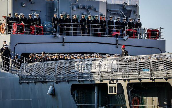 Japońskie okręty przybyły do Władywostoku - Sputnik Polska