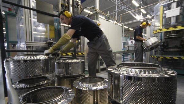 Zakłady Siemensa w Rosji - Sputnik Polska