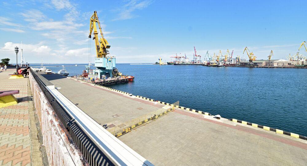 Port towarowy w Odessie