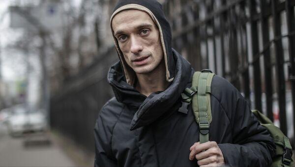 Petersburski artysta-skandalista Piotr Pawlenskij - Sputnik Polska