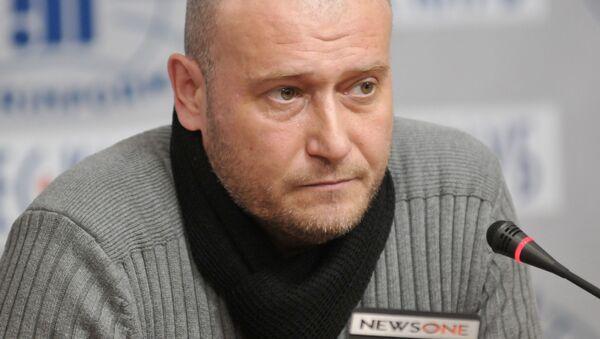 """Lider """"Prawego Sektora"""" Dmitrij Jarosz. Zdjęcie archiwalne - Sputnik Polska"""