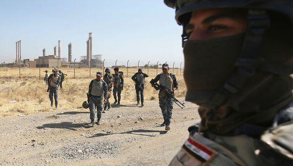 Irackie wojska przy podejściu do miasta Kirkuk - Sputnik Polska