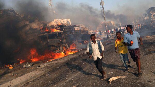 Zamach w Mogadiszu - Sputnik Polska