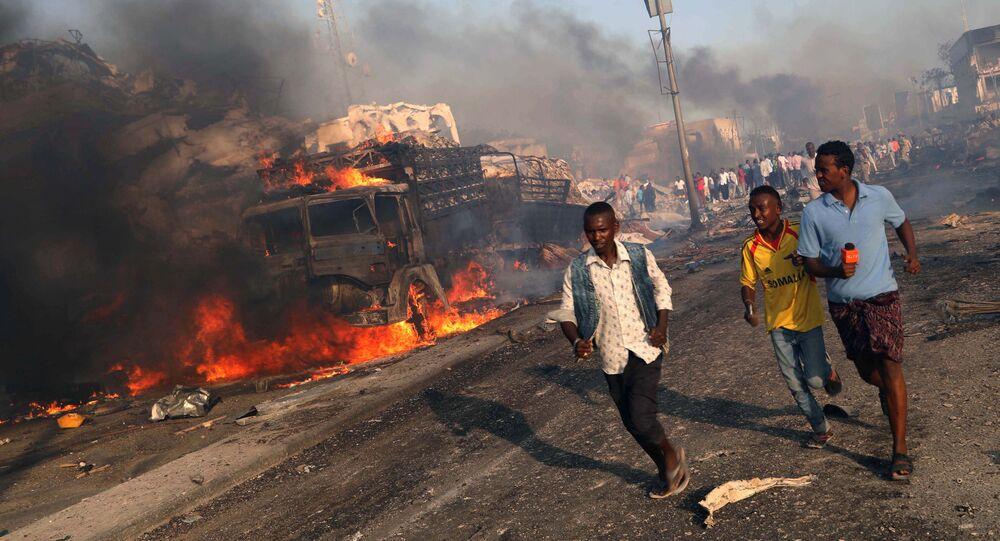 Zamach w Mogadiszu