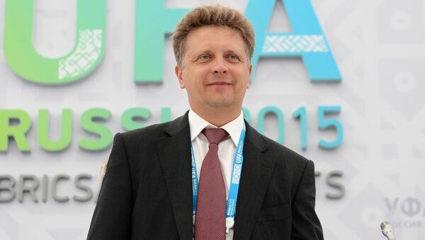 Minister transportu Rosji Maksim Sokołow - Sputnik Polska