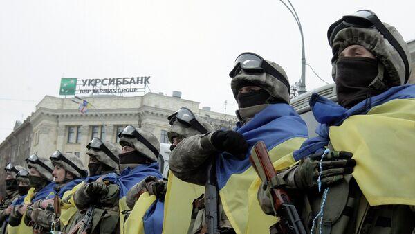 Ukraińcy żołnierze - Sputnik Polska