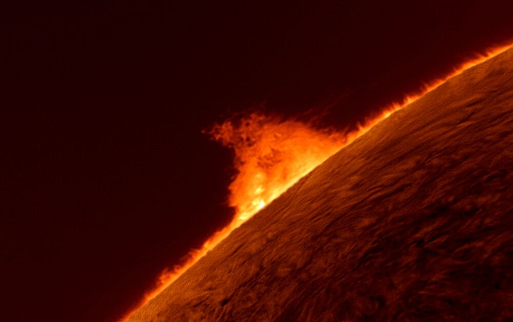 Gary Palmer Solar Prominence
