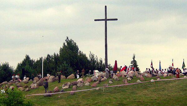 Pomnik ofiarom obławy augustowskiej - Sputnik Polska