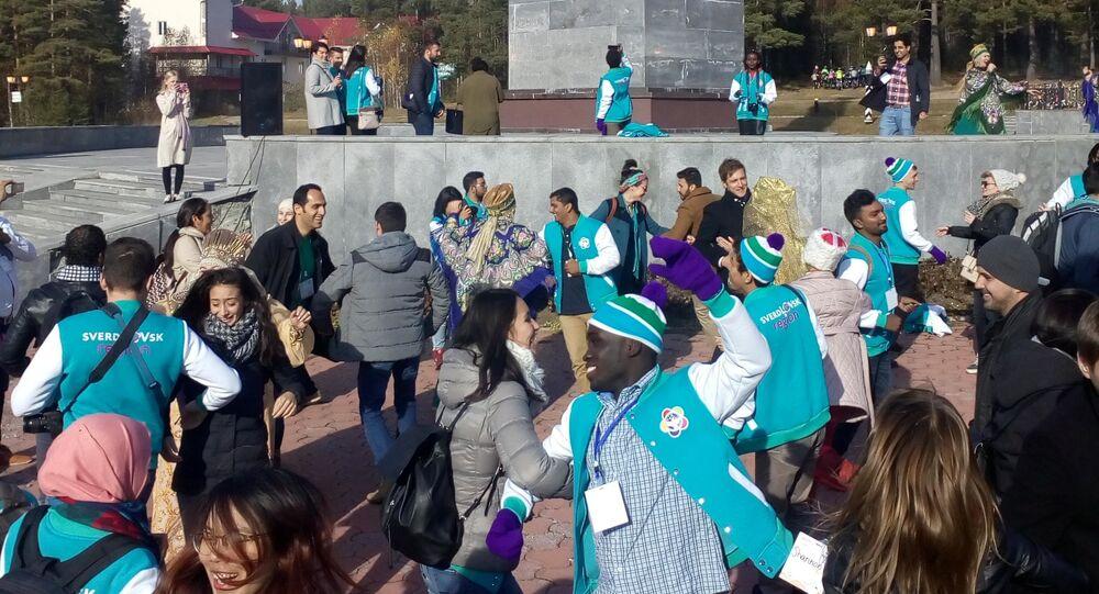 Warsztat tańca ludowego, Światowy Festiwal Młodzieży i Studentów-2017