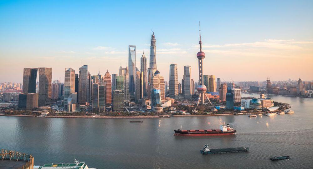 Widok Szanghaju