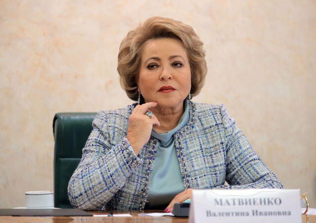 Przewodnicząca Rady Federacji Walentina Matwijenko