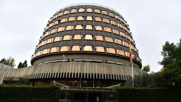 Trybunał Konstytucyjny Hiszpanii - Sputnik Polska