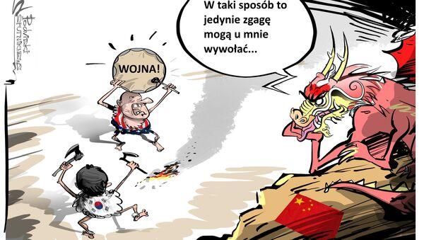 Chińska zgaga - Sputnik Polska