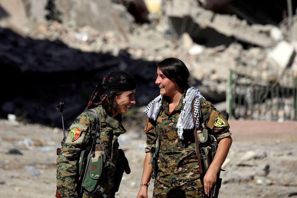 Kobiety walczące w Syryjskich Siłach Demokratycznych