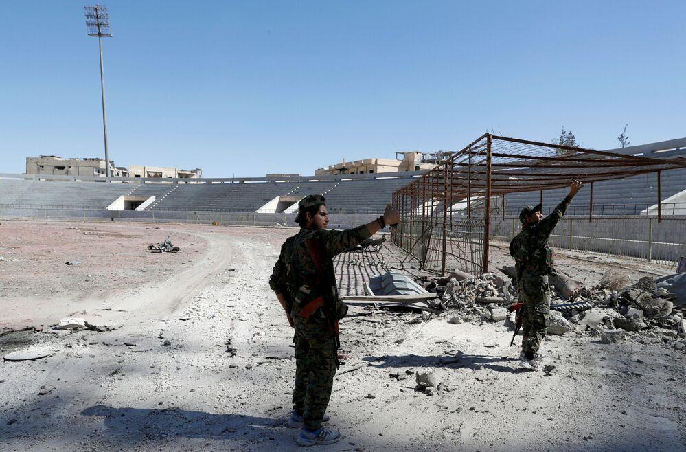 Syryjskie Siły Demokratyczne w Rakce