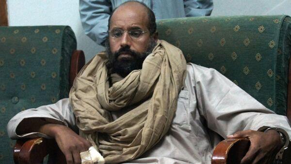 Saif al-Islam Kaddafi w Libii - Sputnik Polska