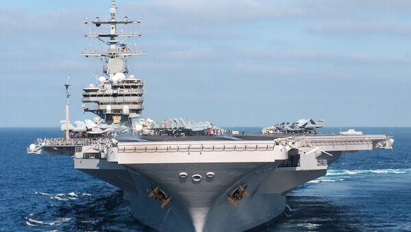 USS Ronald Reagan - Sputnik Polska