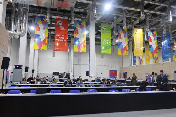 Press room Festiwalu - Sputnik Polska