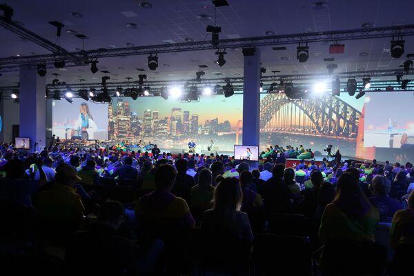 """Forum młodzieżowe """"Technologie przyszłości podczas Festiwalu Młodzieży i Studentów w Soczi - Sputnik Polska"""