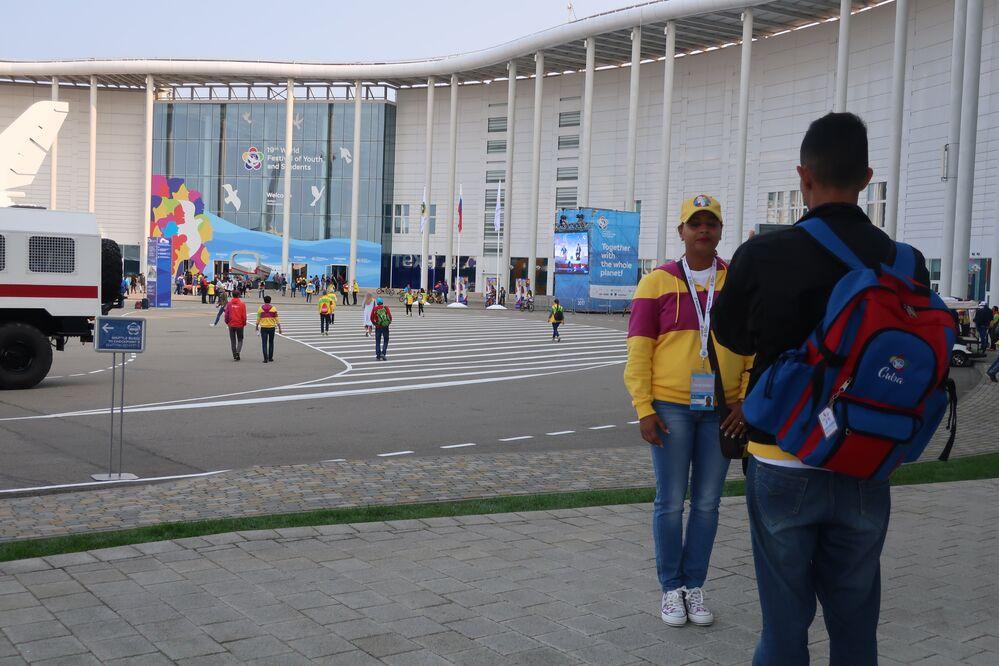 Centrum Medialne Festiwalu Młodzieży i Studentów w Soczi