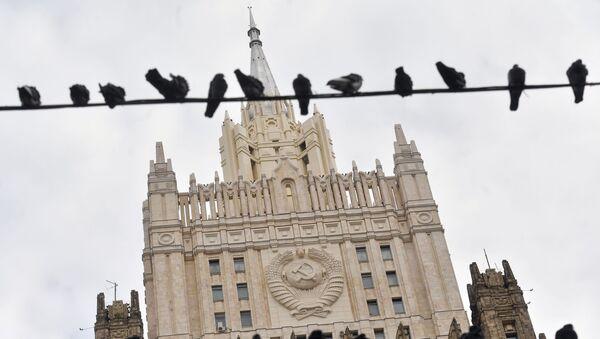 Odrestaurowany budynek ministerstwa spraw zarganicznych w Moskwie - Sputnik Polska