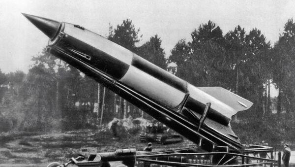 Niemiecka rakieta V2 - Sputnik Polska