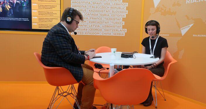 Mobilne studio radiowe Sputnika
