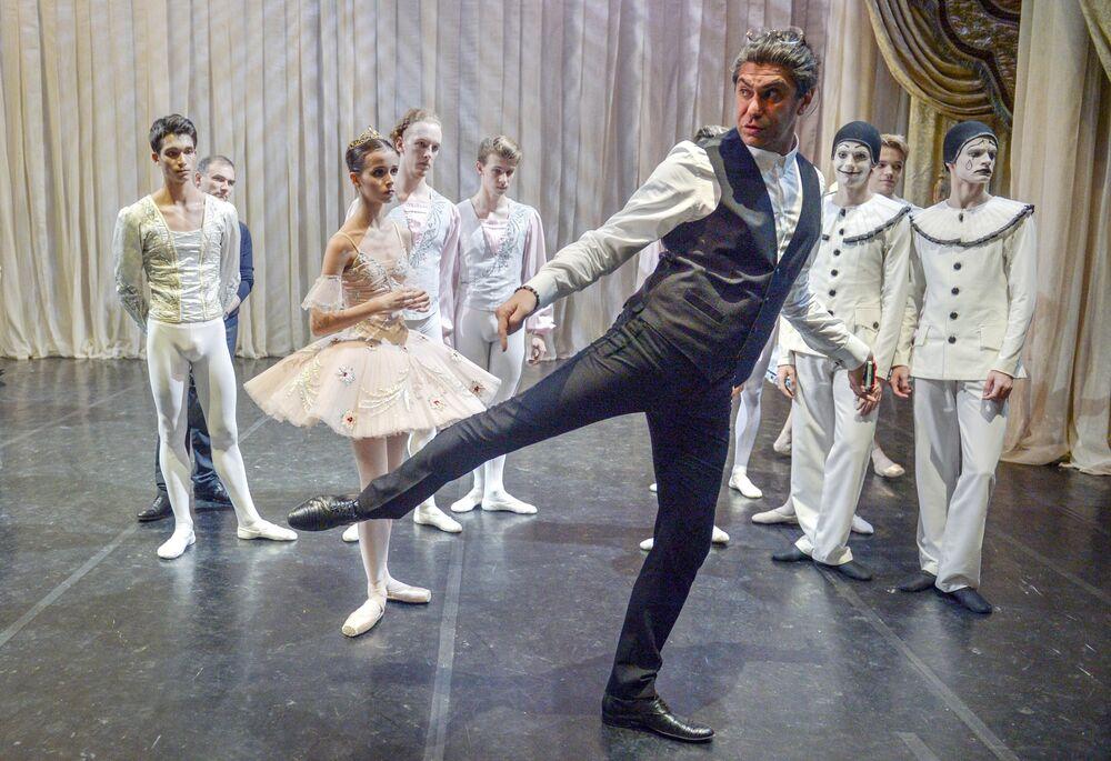 Akademia Baletu Rosyjskiego im. Agrippiny Waganowej znajduje się w centrum Petersburga.
