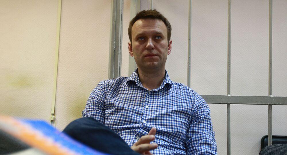 Rosyjski opozycjonista Aleksiej Nawalny