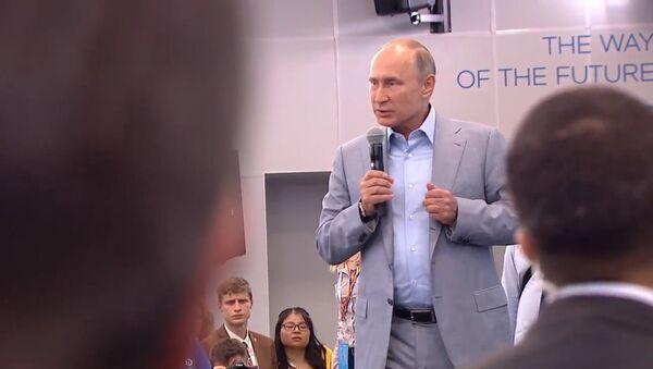Putin: Co jest straszniejsze od bomby atomowej - Sputnik Polska