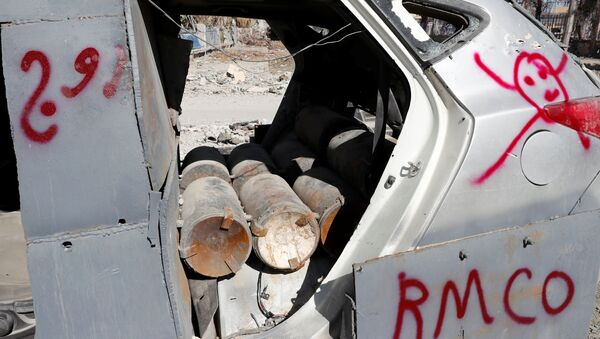 Bomby w samochodzie w Rakce - Sputnik Polska
