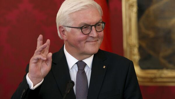 Prezydent Niemiec Frank-Walter Steinmeier - Sputnik Polska