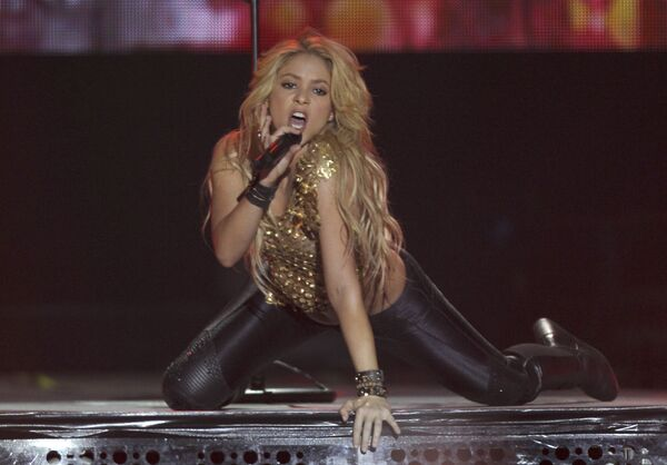 Żona Gerarda Piqué Bernabeu - Shakira - Sputnik Polska